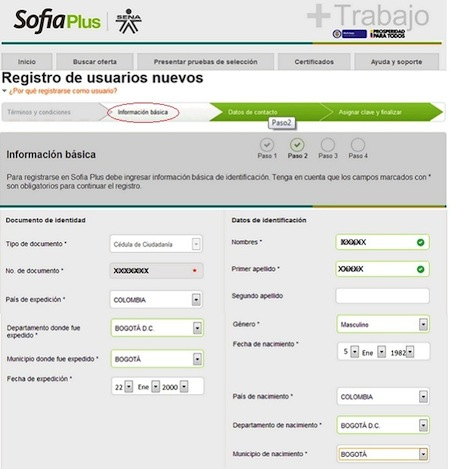 Registro SOFIA Plus 4 SOFIA Plus edu