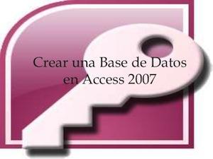Microsoft Office 2007 Curso Access Sena