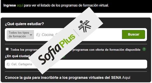 SOFIA Plus SENA programas