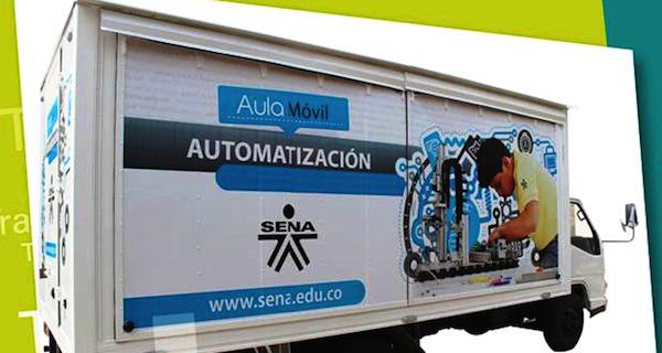 Aulas Moviles del SENA Recorren a Caldas