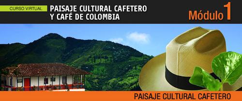 Curso paisaje cultural cafetero y café de Colombia