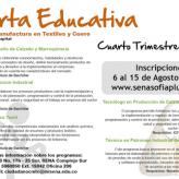 IV Convocatoria SENA 2016 en SENA SOFIA Plus